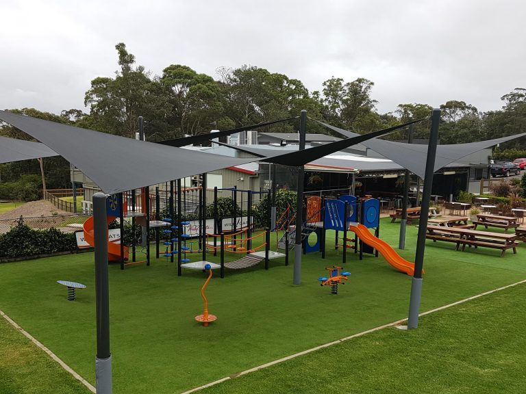 Out door shade sails for play ground