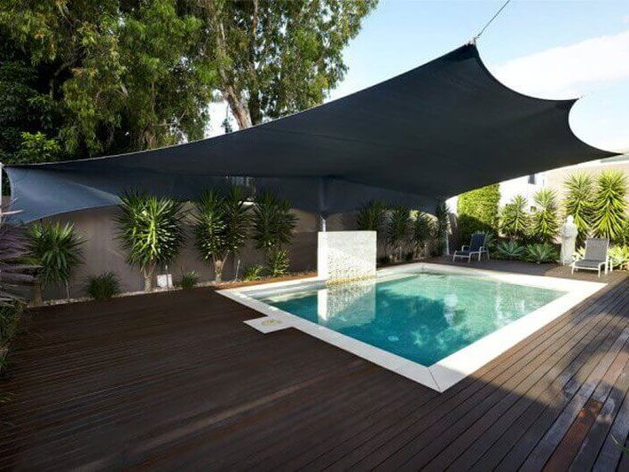 Swimming Pool Shade Sails