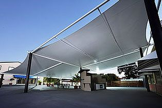 waterprrof shade sails