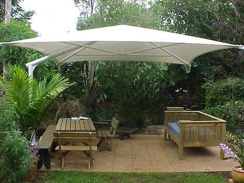 best backyard cantilever umbrella