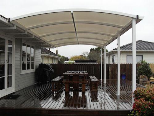 Overdeck canopies