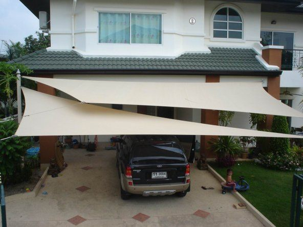shade sail for carport