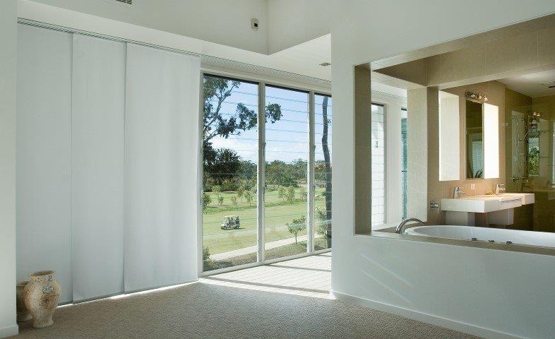 modern panel blinds sydney