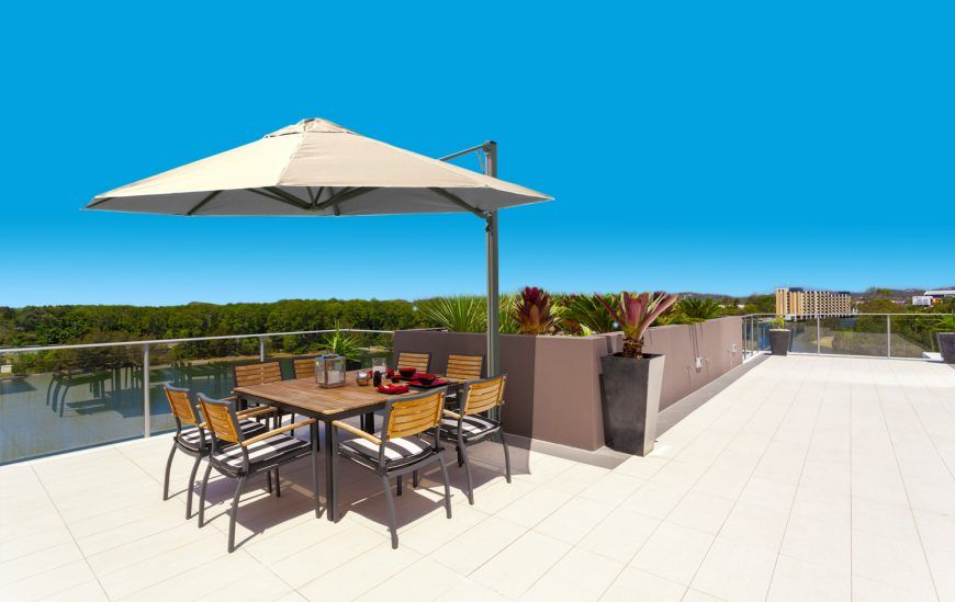 6 Umbrellas Perfect for Use as a Deck Umbrella