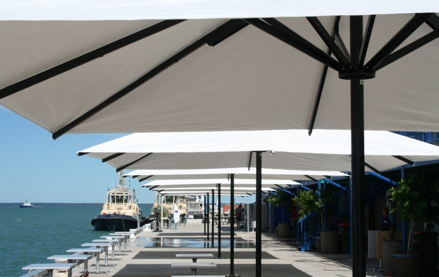 CE Heavy Duty Umbrellas seaside