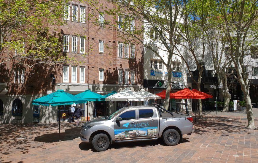 HE Cafe & Market Umbrellas for cafe