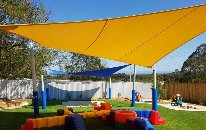 shade sails at Dooral Early Learning Centre
