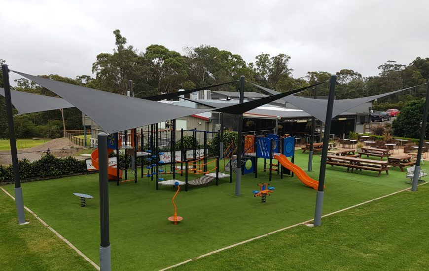 shade sails at Glenorie RSL