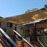 Shade Sail over Deck in Thornleigh