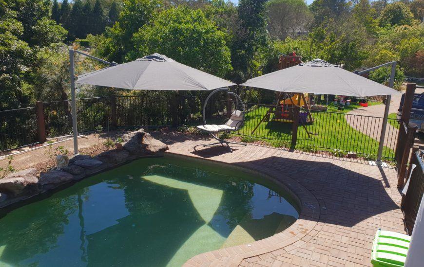 Get Summer Ready With Ashadya Swimming Pool Umbrellas