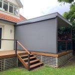 outdoor blind zipscreen