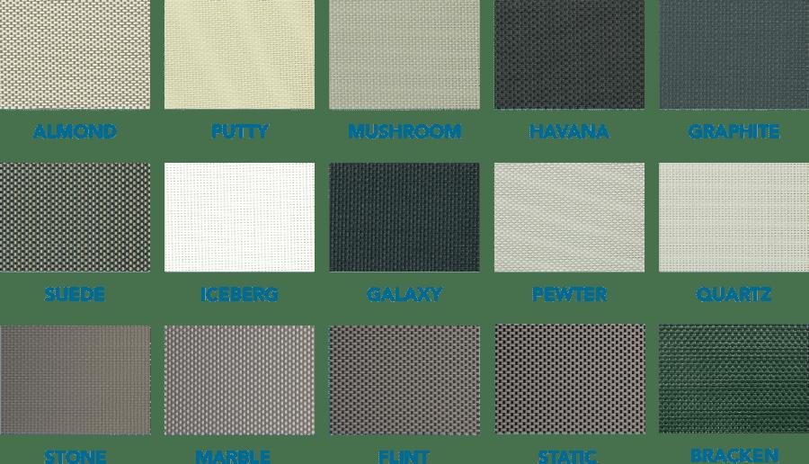 Shade View 300 premium fabric